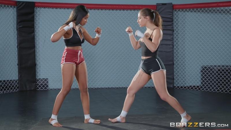 Порно лесбиянки бойцовский ринг